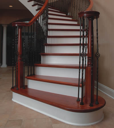 Signature Stairs   Custom Stairs For The Chicago Area